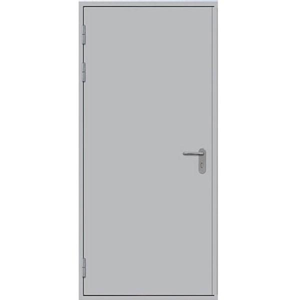 Металлическая противопожарная дверь однопольная ДПМ-1Г